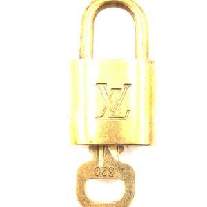 Gold Lock Keepall Speedy Alma  Key Set #320 Bag